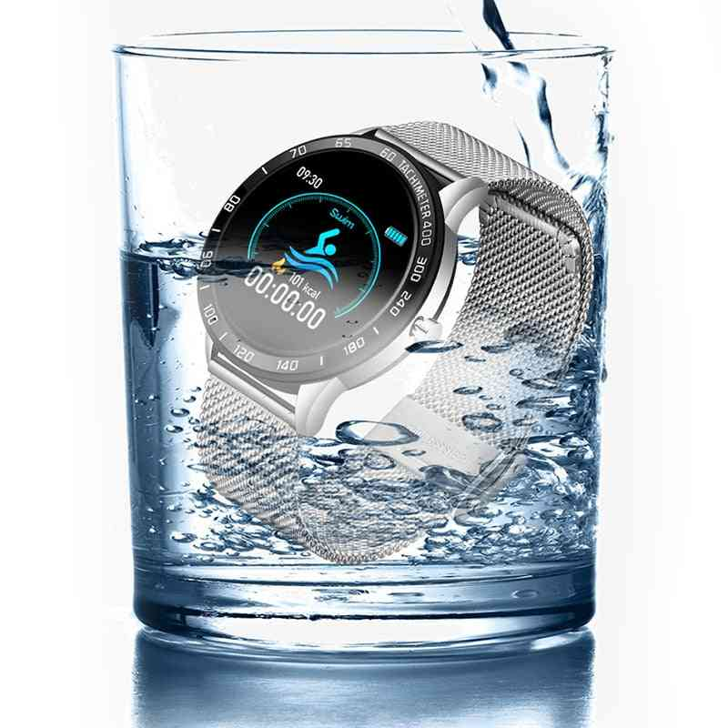 Smart Watch, Oled-color Screen, Heart-rate, Blood-pressure Fitness Tracker