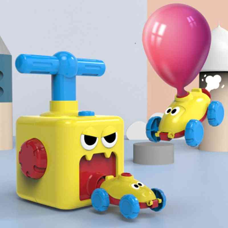 Power Balloon Car Toy For With Inflatable Tube