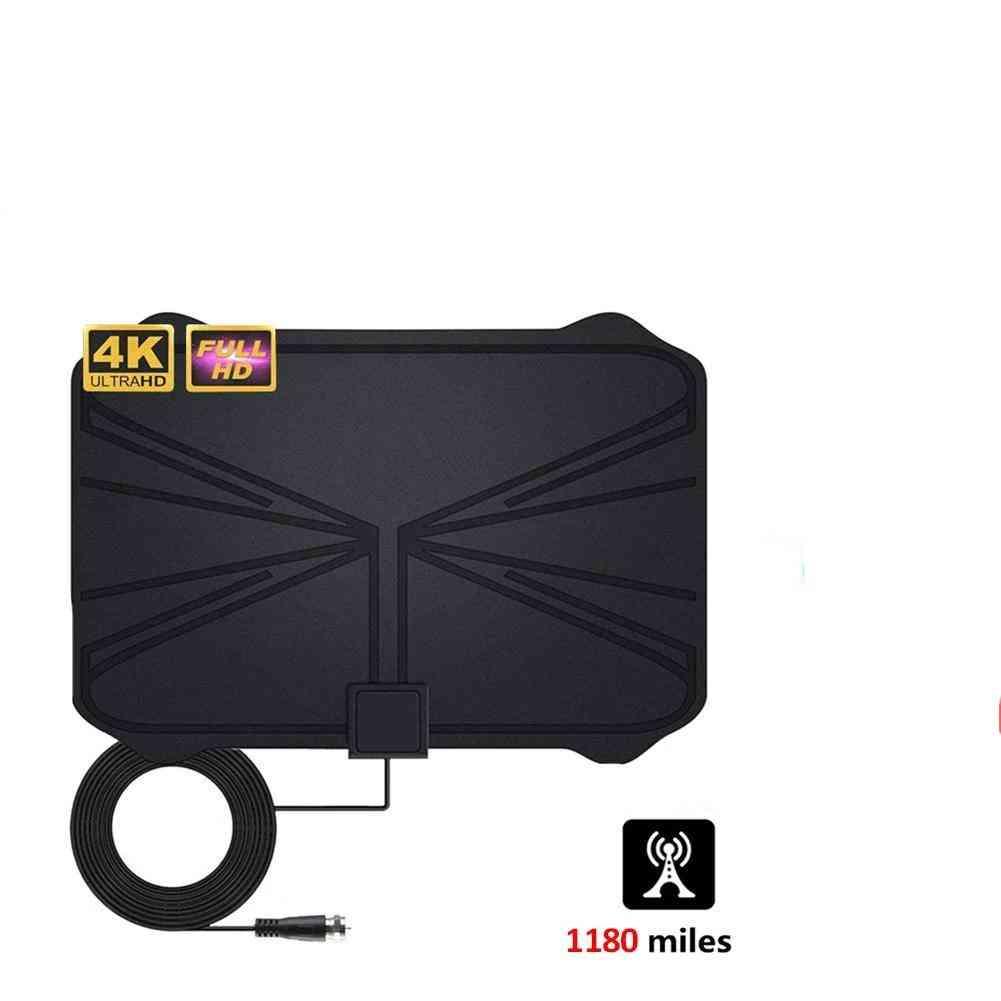 1180 Miles 4k Digital Hdtv Indoor Tv Antenna Sticker Signal, Radius Surf Fox