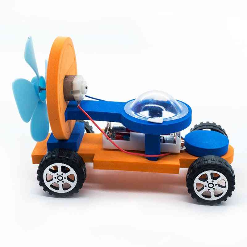 Diy Model Building Racing Cars For-educational Science Learning Logic Games