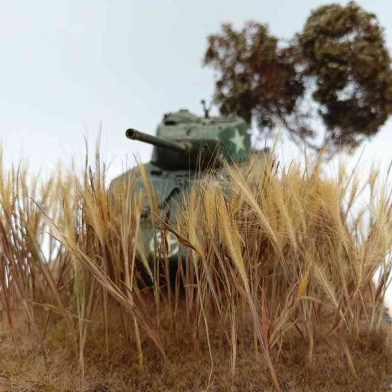 Wheat Spike And Long-leaf For Diy Miniature Model Scenario
