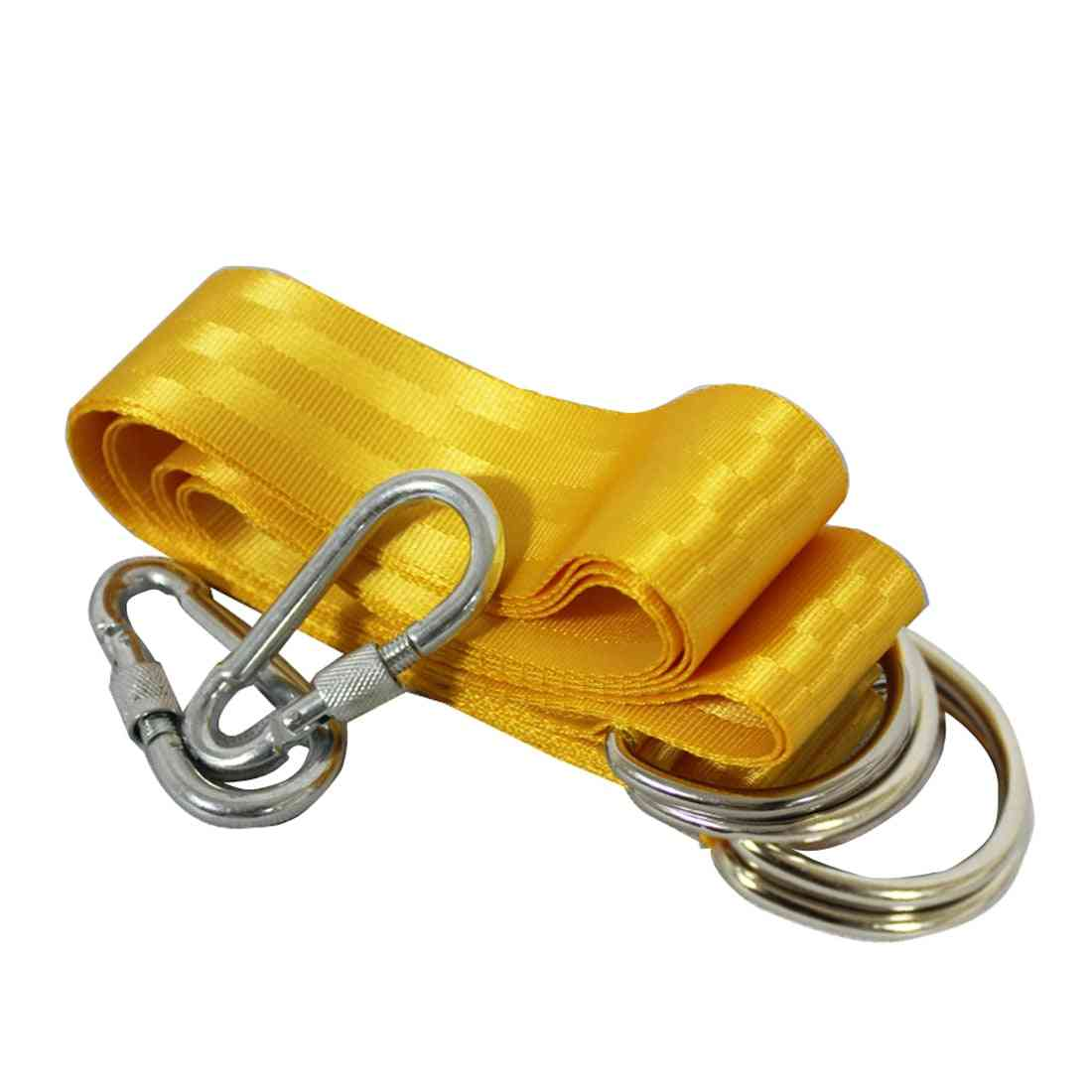 Outdoor Swing - X Rope Lock Tie Strength Polyester Webbing Straps Safe
