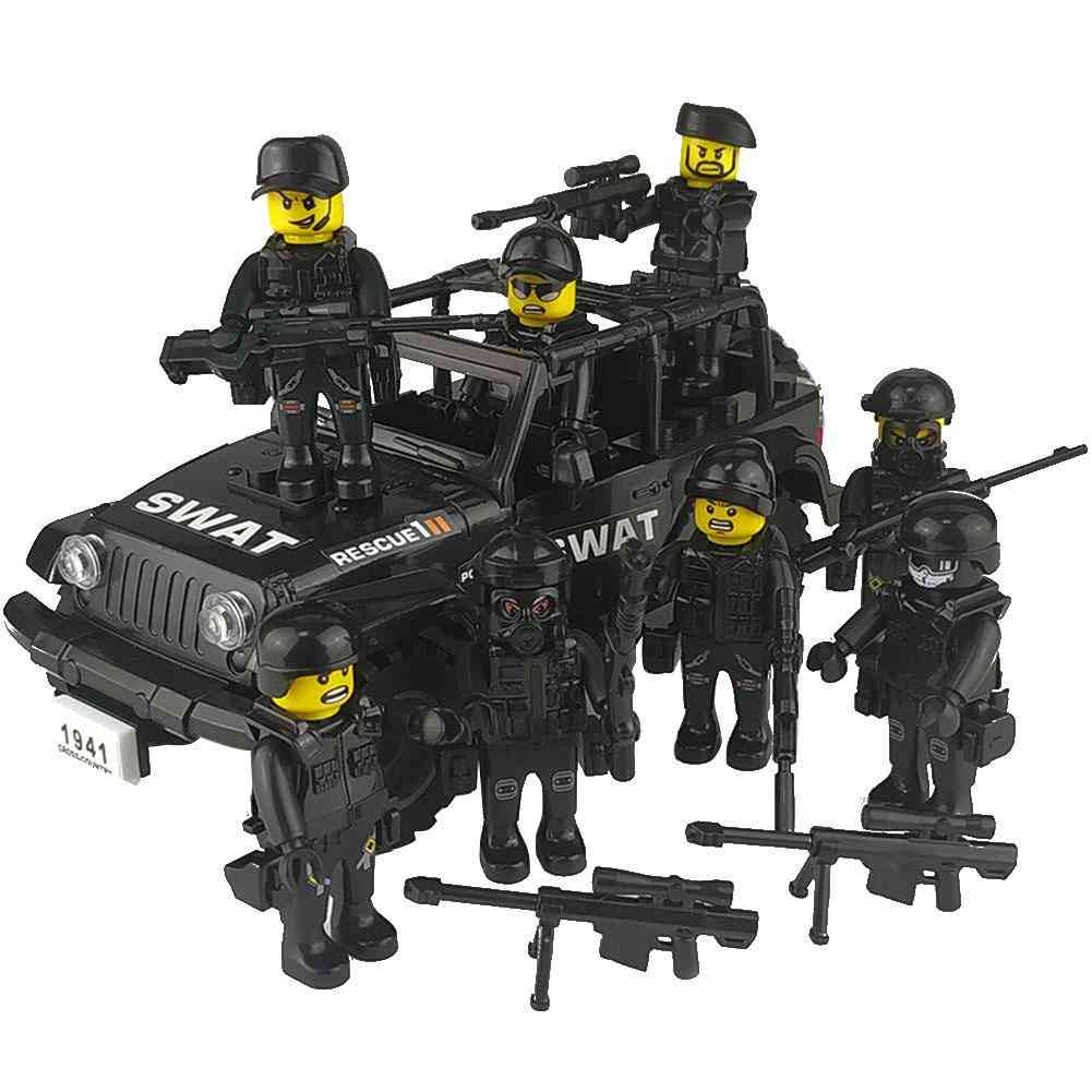 Special Forces Building Blocks- Mini Action Figure For