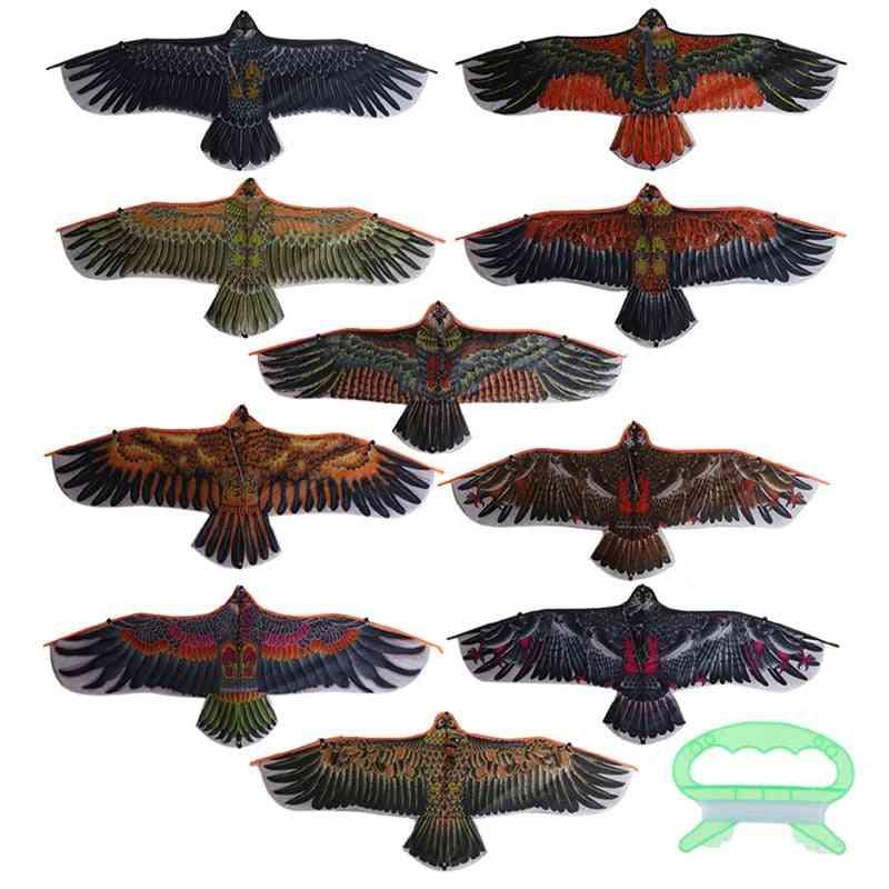 Flat Eagle Kite For Flying Garden