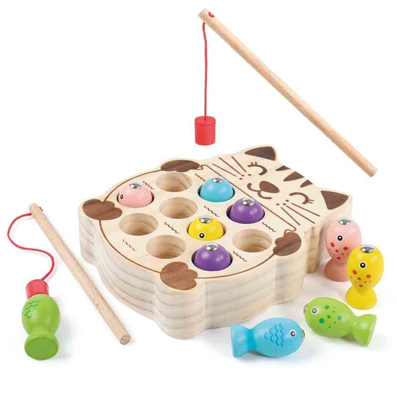 Magnetic Fishing Game - Baby Puzzle Early Education Teaching Toy