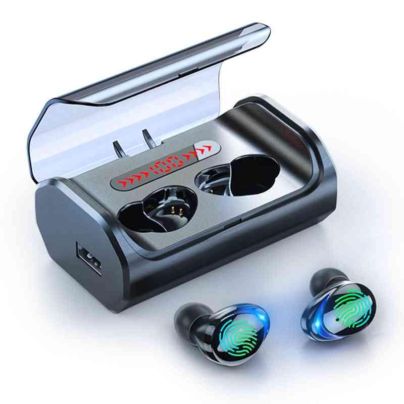 T8 Bluetooth 5.0 Earphone Touch Control Wireless Headphons - Hd Stereo Waterproof Headset