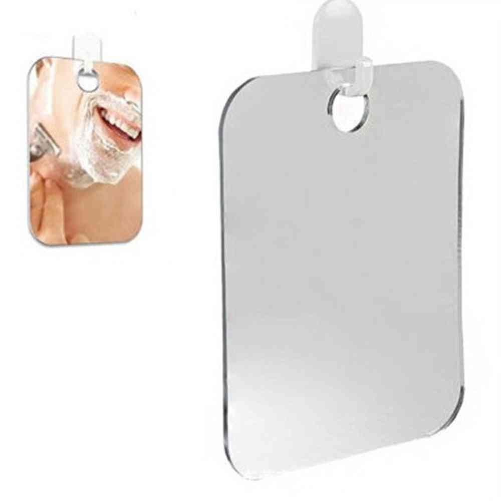 Anti Fog Hanging Shaving, Shower, Makeup Mirror Without Hook