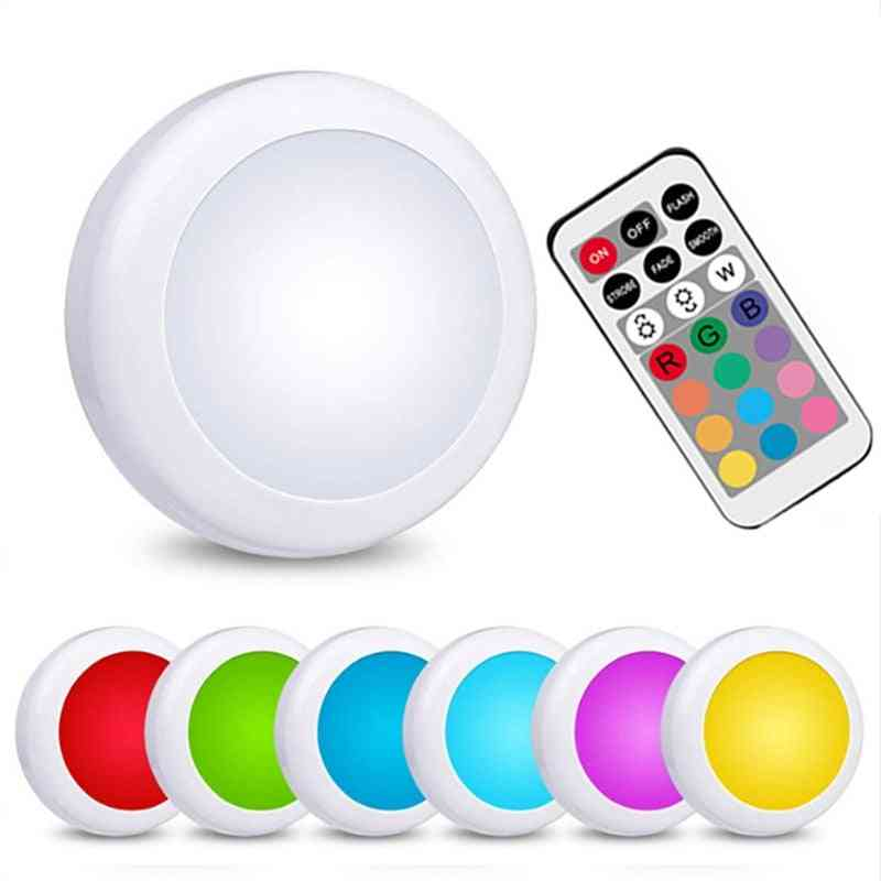 Remote Control Cabinet Lights - Powered Touch Sensor Closet Lamps