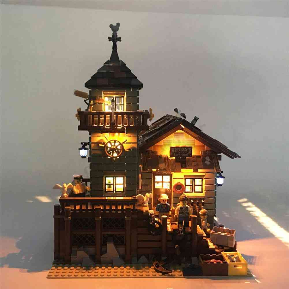 Diy Model Miniature Dollhouse With Furnitures And Led Lights