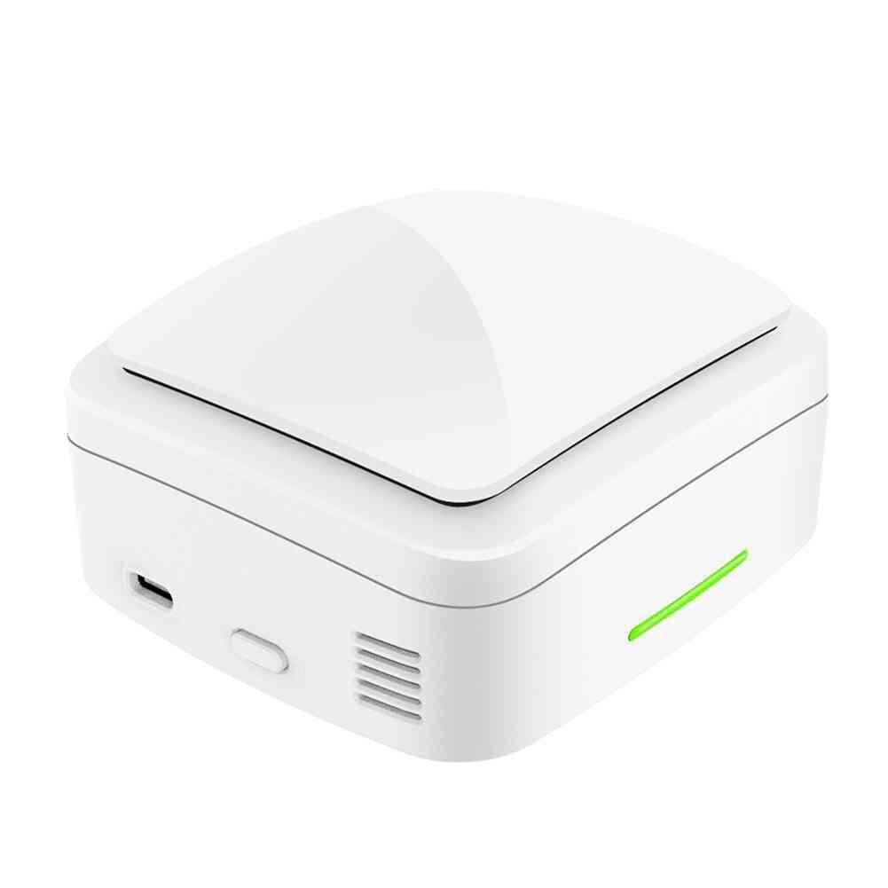 Mini Portable Ozone Generator Air Purifier Deodorizer Sterilizer For Car Home Office R30 (white)