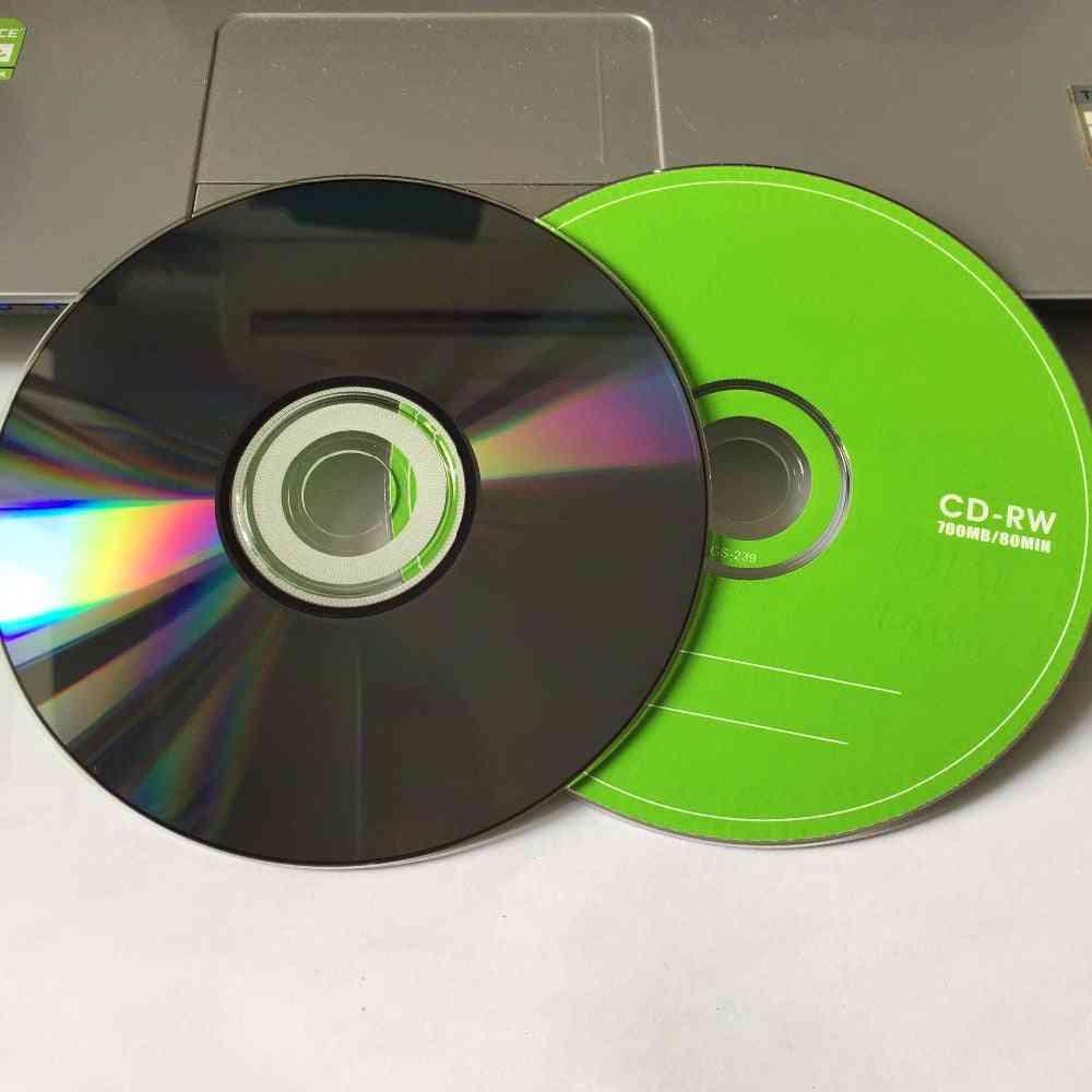 5 Discs Grade A+ Blank Cd-rw Disc