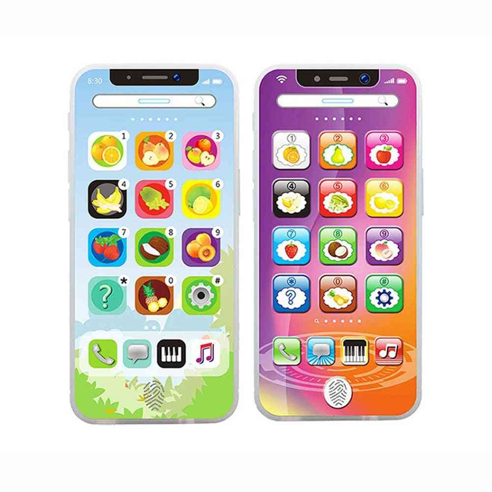Smart Screen Mobile Phone Toy - Multi Function Simulation