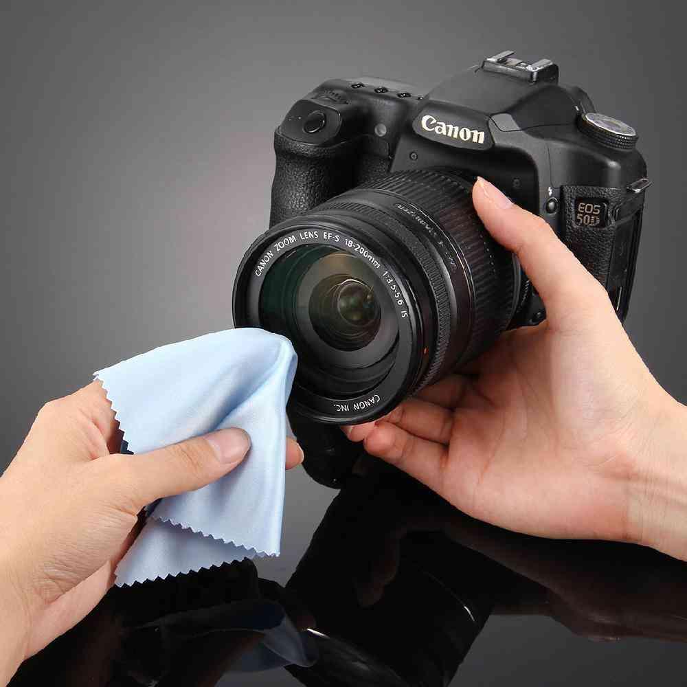 Soft Cleaning Screen Glasses Mirror, Camera Wipe Cloth