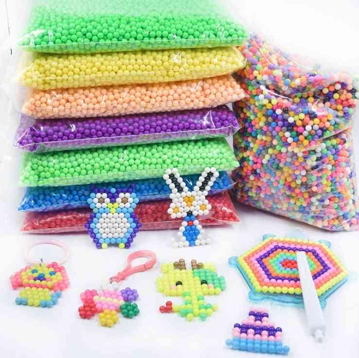 Spray Aqua Magic Beads - Educational 3d Puzzles Accessories For