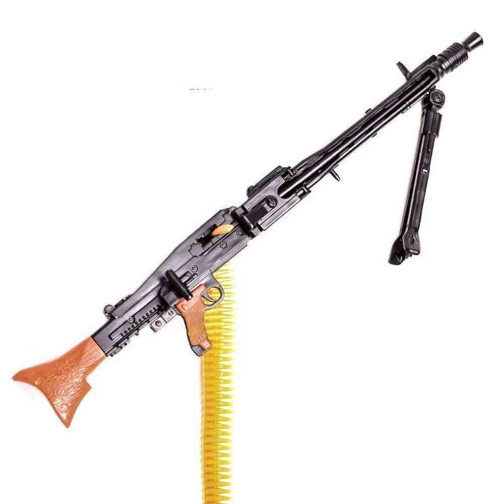 12-inch, Wwii Mg42 Heavy Machine Gun And Bullet Belt Set