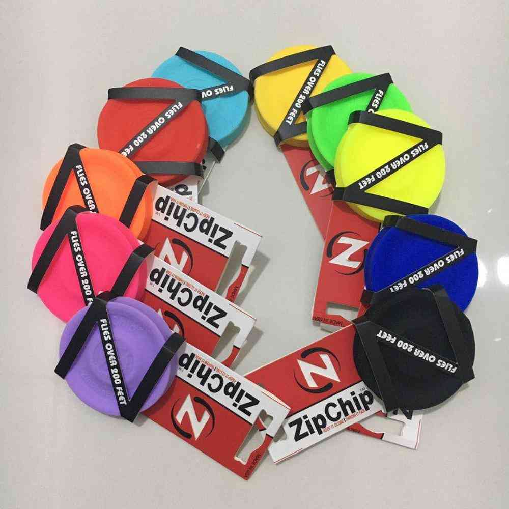Mini Pocket Flexible Zip Chip - Flying Discs, Spin Catching Game