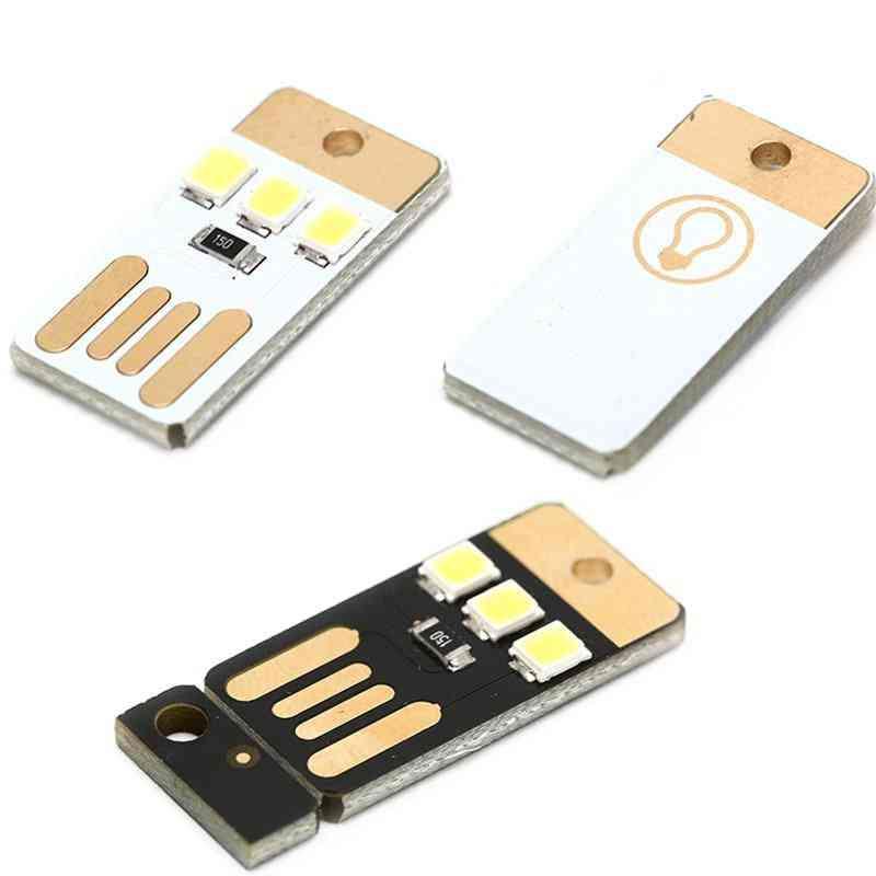 Double-sides Usb Design, Mini Card Led Light