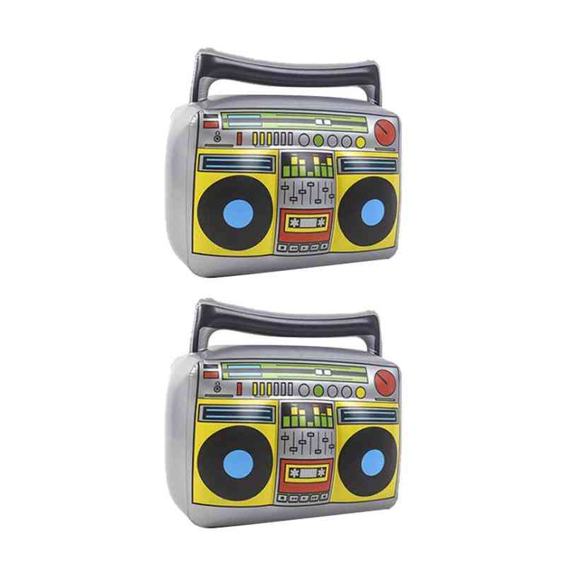 Radio Shape Inflatable Toy For Music Theme Events