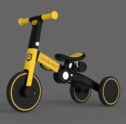 4 In 1, Foldable Kids Balance Bike And Stroller For 1-6 Years Old