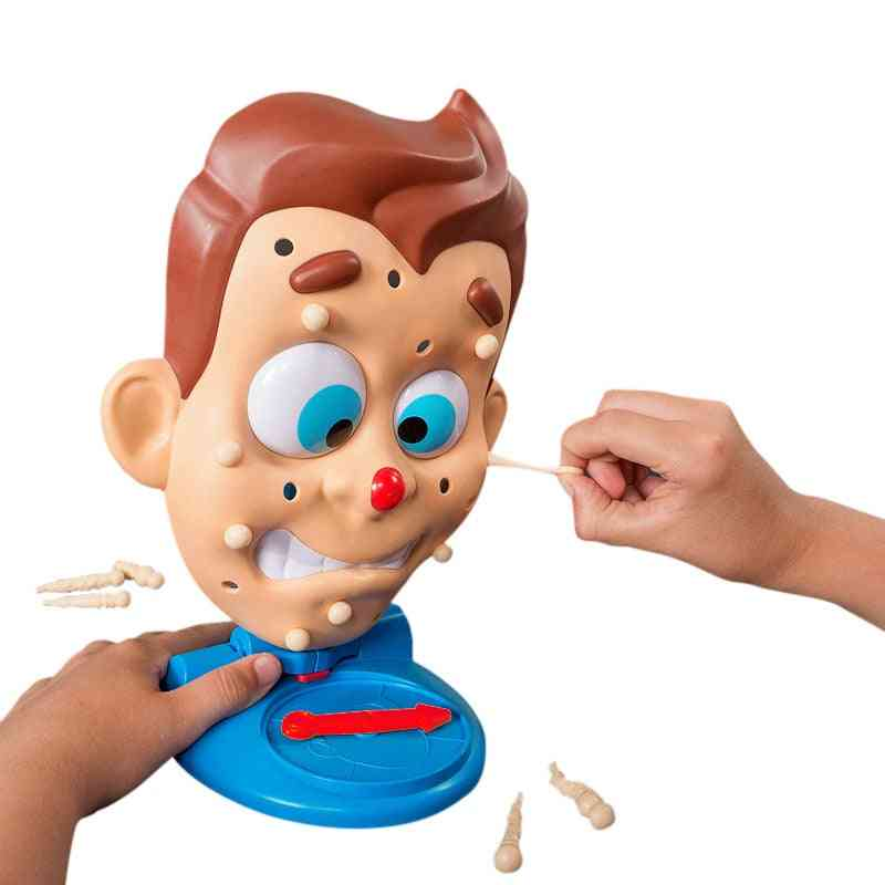 Simulate Face Shape Squeeze Acne Toy - Popping Pimple Parent Child Board Game
