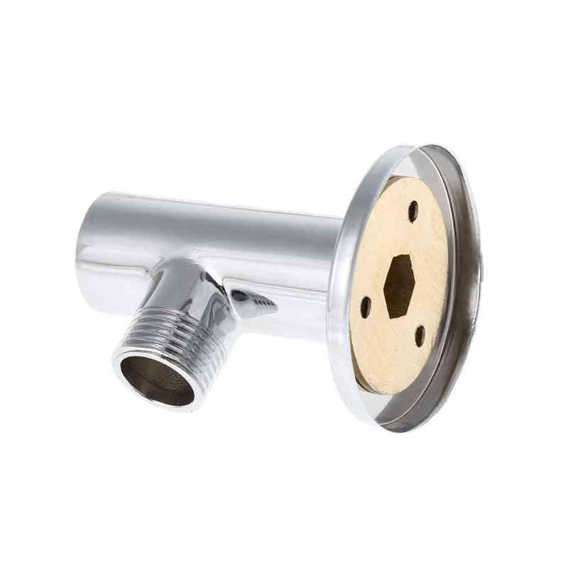 Chrome Plated Shower Base Holder