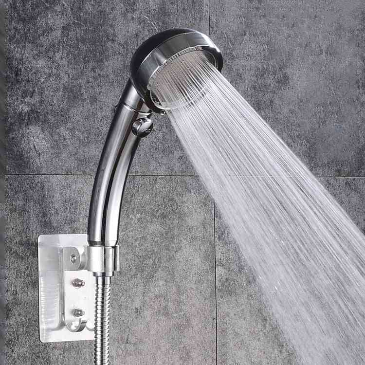 Hand Held Booster Shower Head With Filter Spray