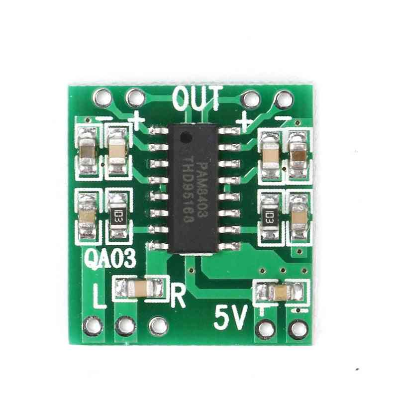 Mini Digital Power Board For Class D Stereo Audio Amplifier