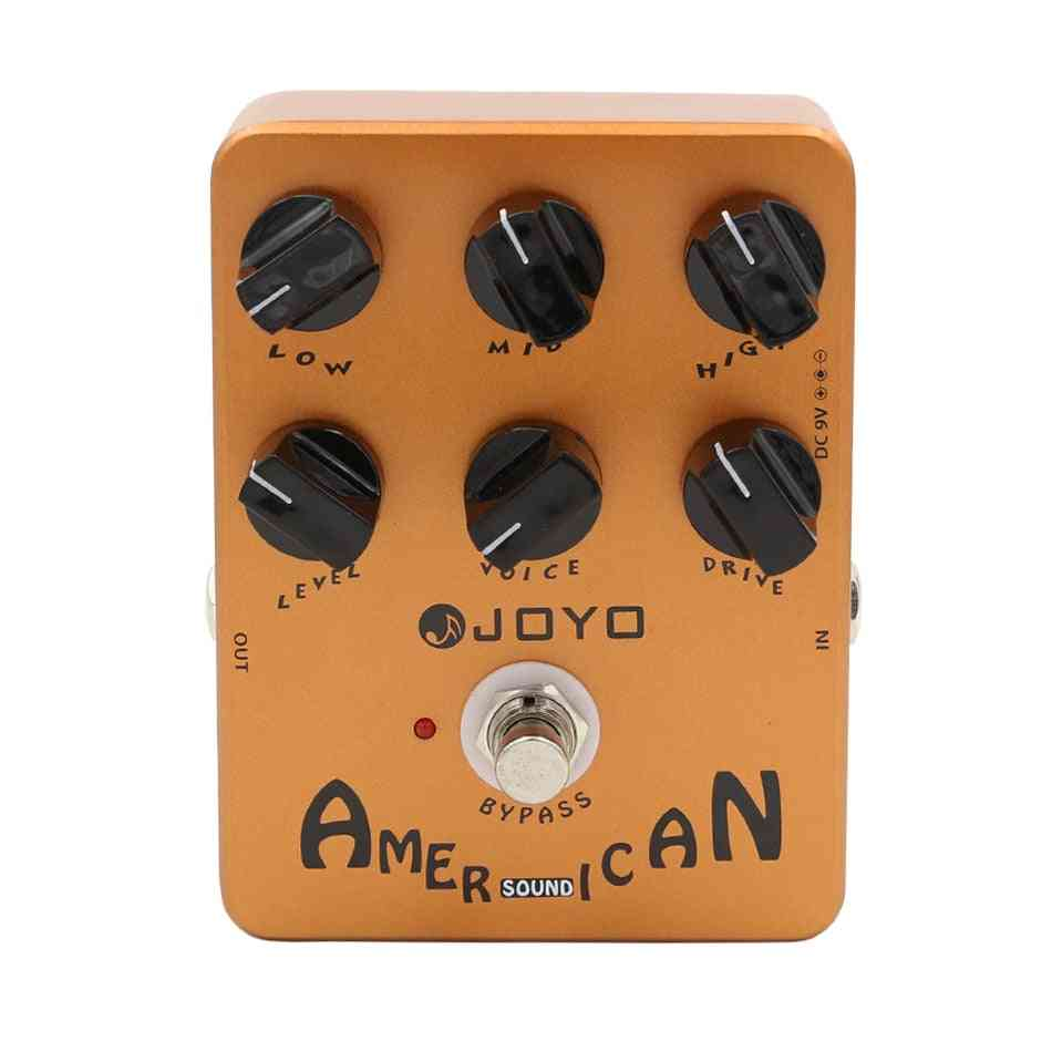 Jf-14 American Sound Effects Pedal Amplifier Simulation With Voice Control