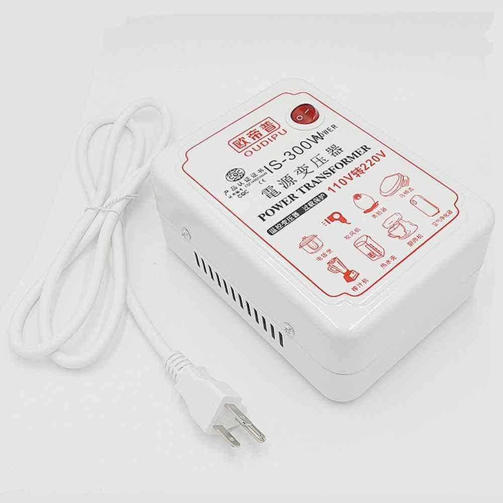 Ac Voltage Converter-portable Transformer Adapter Set Up