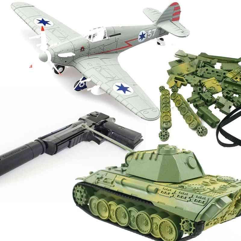 Aircraft War-ii/spitfire/military Tiger Tank-model Sets