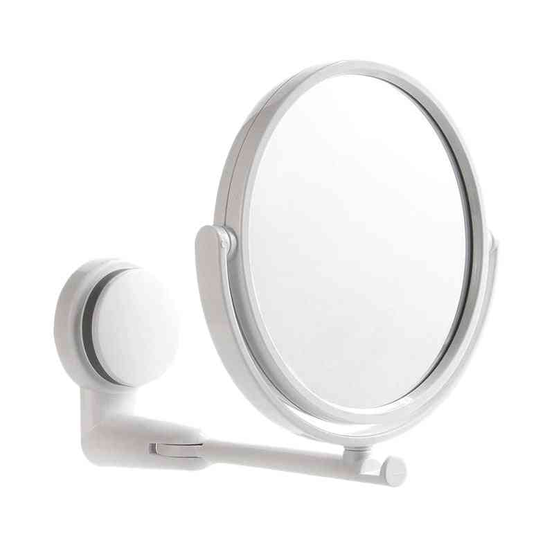 2 Side Modern Hd Mirror With Wall Suction Cap