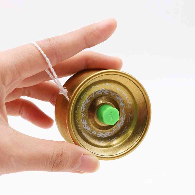 Alloy Metal-yoyo Ball Bearing String Trick Toy