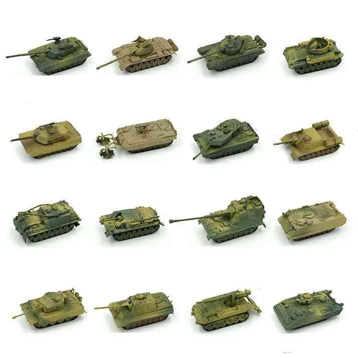 4d Sand Table Plastic Tiger Tanks Toy For