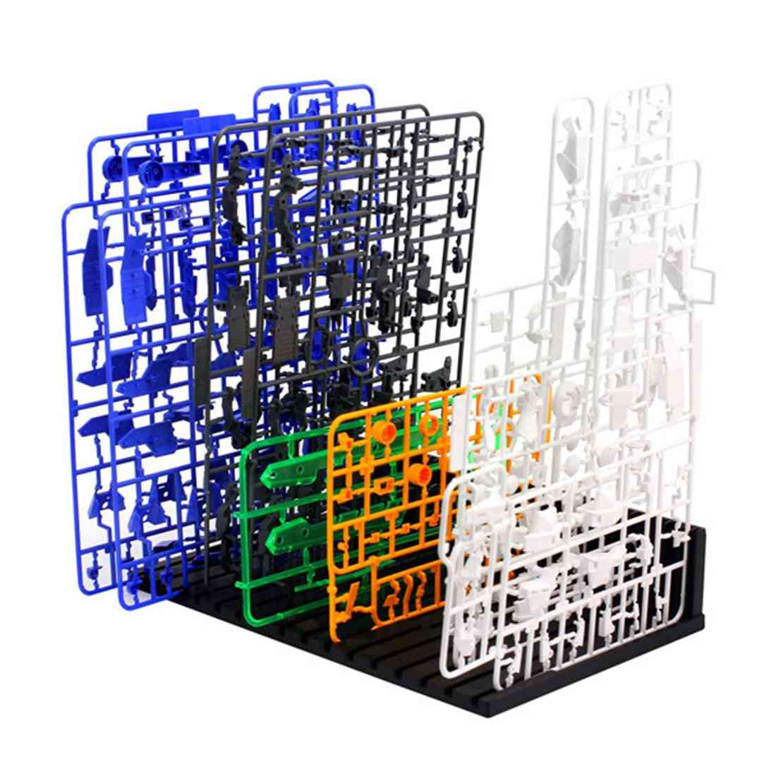 For Gundam Model Auxiliary Tool - Easy Insert Shelf Stand Up Building Sets