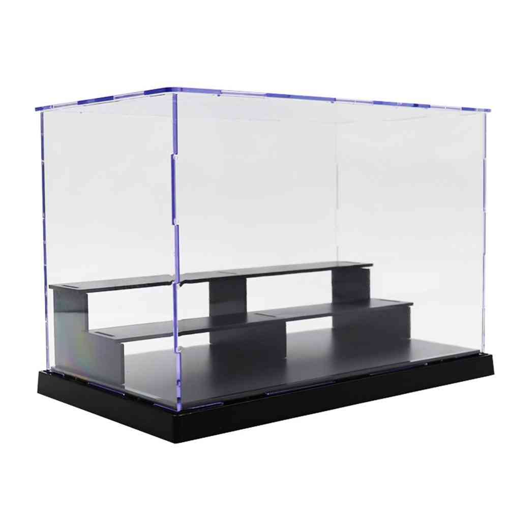 Dustproof Clear Acrylic Action Figure Model - Diy Display Case Storage Box
