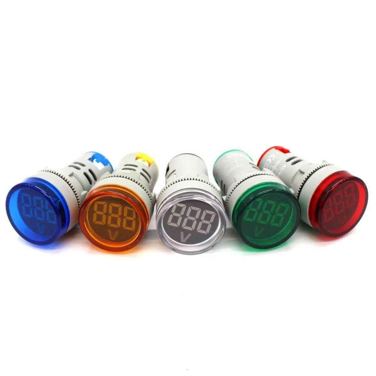Led Digital Display Gauge Voltmeter Indicator Light - Navigation Tester