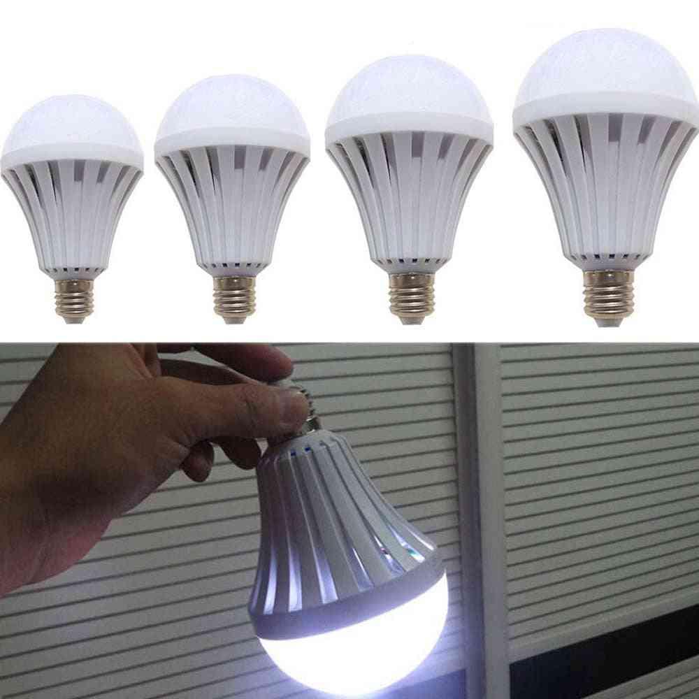 Led Smart Emergency Bulb E27, Ac220v With Rechargeable Battery Lighting Lamp For Outdoor Lighting Bombil