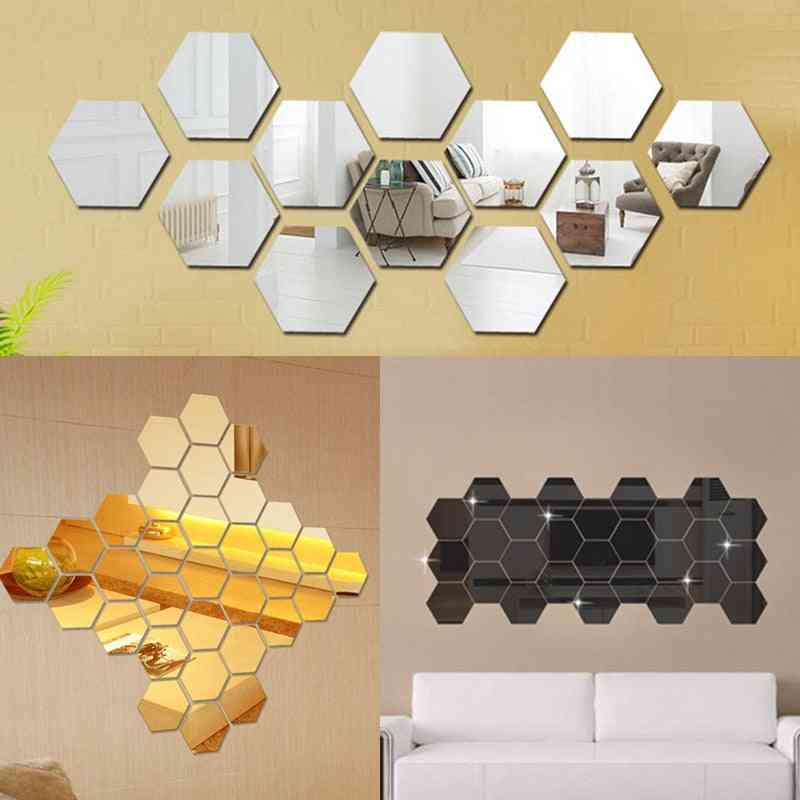 3d Mirror Wall Stickers