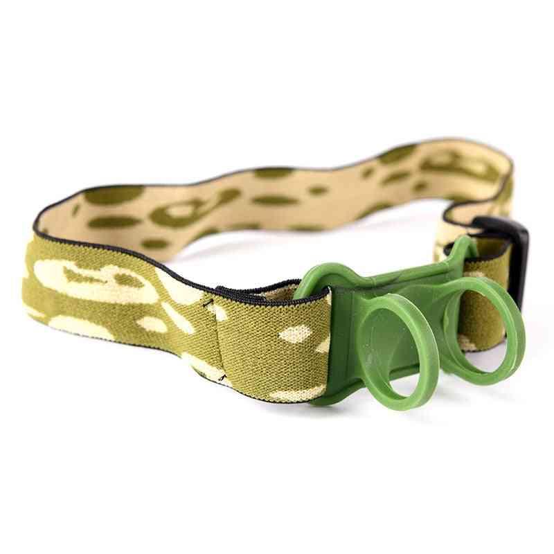 Head Belt & Strap Mount Holder For Flashlight Headband