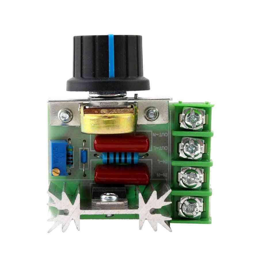 Dimmer 220v Speed Electronic Thermostat Motor Volt Regulator Controller