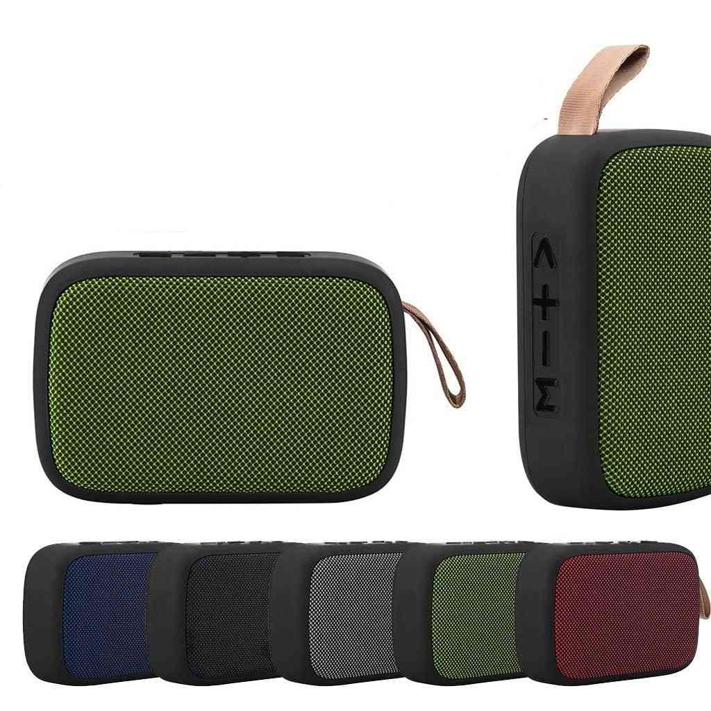 Portable Wireless Bluetooth Stereo Tf Card Fm Speaker For Smartphone & Tablet