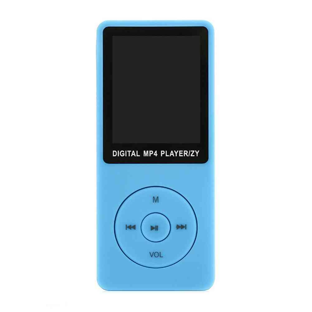 Portable Mp3 Player With Lcd Screen And Fm Radio