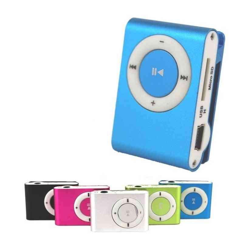 Waterproof Compact Mini Portable Usb Mp3 Player