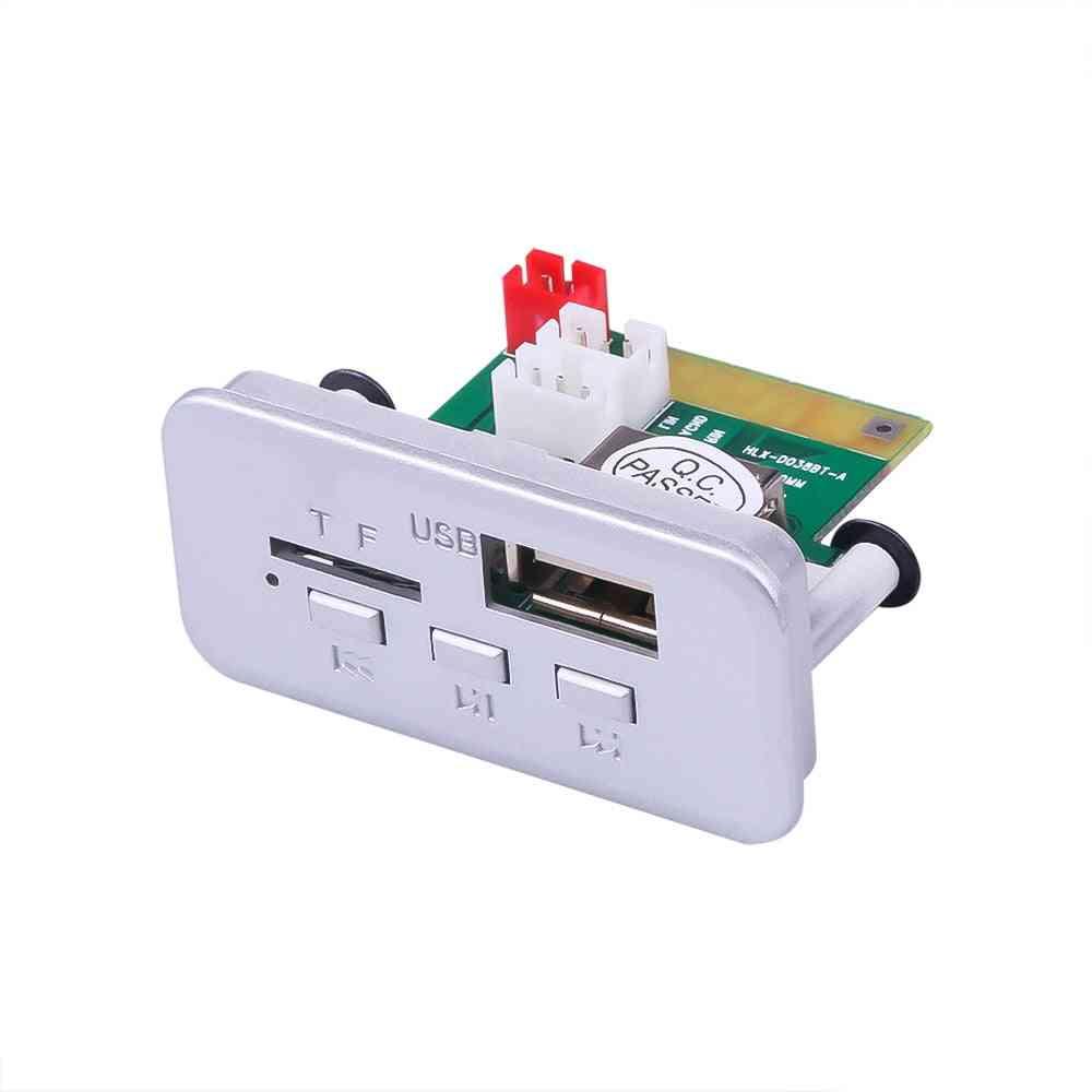 12v Mini Wireless Bluetooth 5.0 Mp3 Decoder Board - Audio Module Mp3