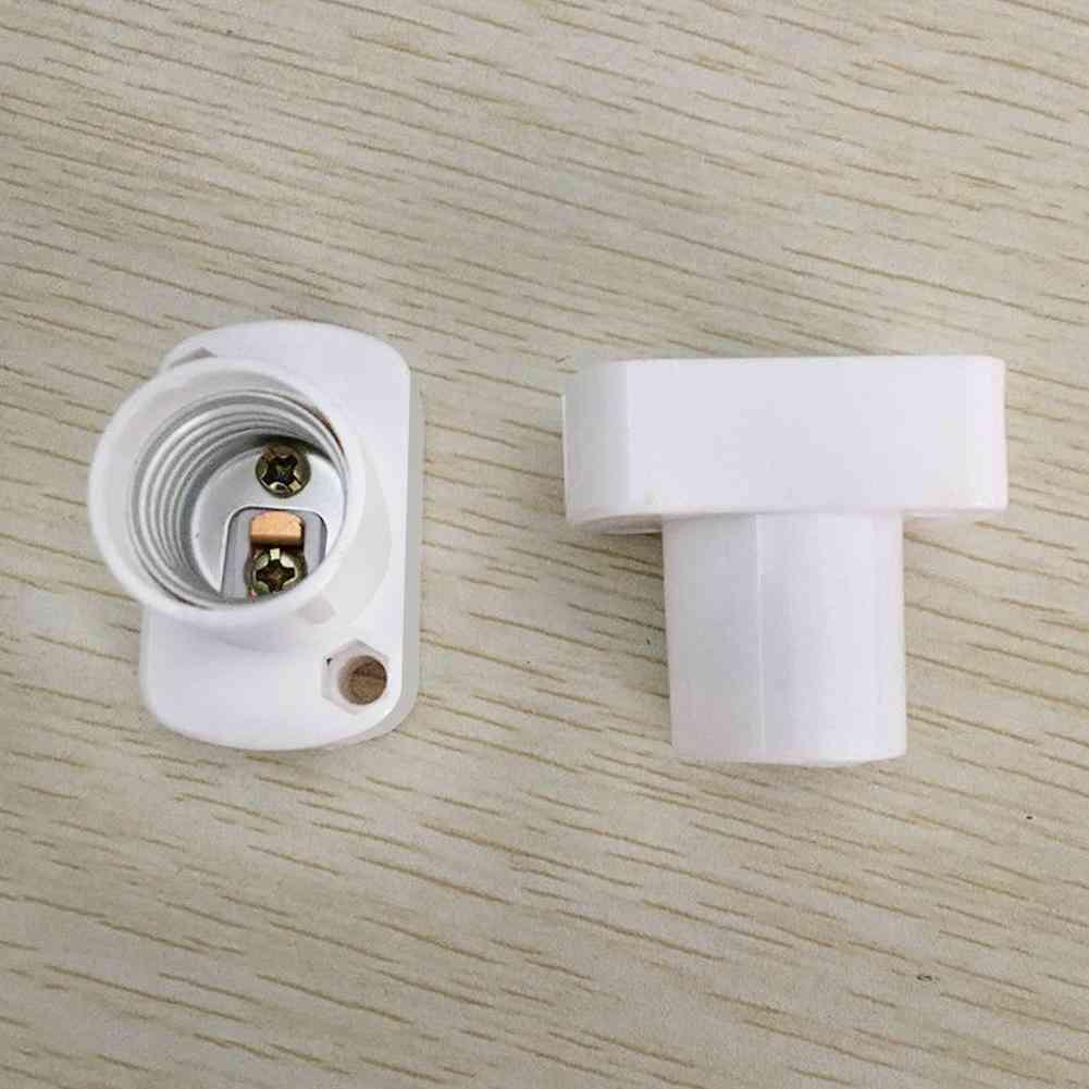 Square Lamp Holder For E17 Led Light Bulbs