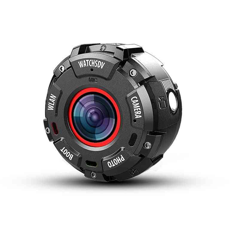 Mini Sport Action Camera With Hd1080p Wifi Smart Watch