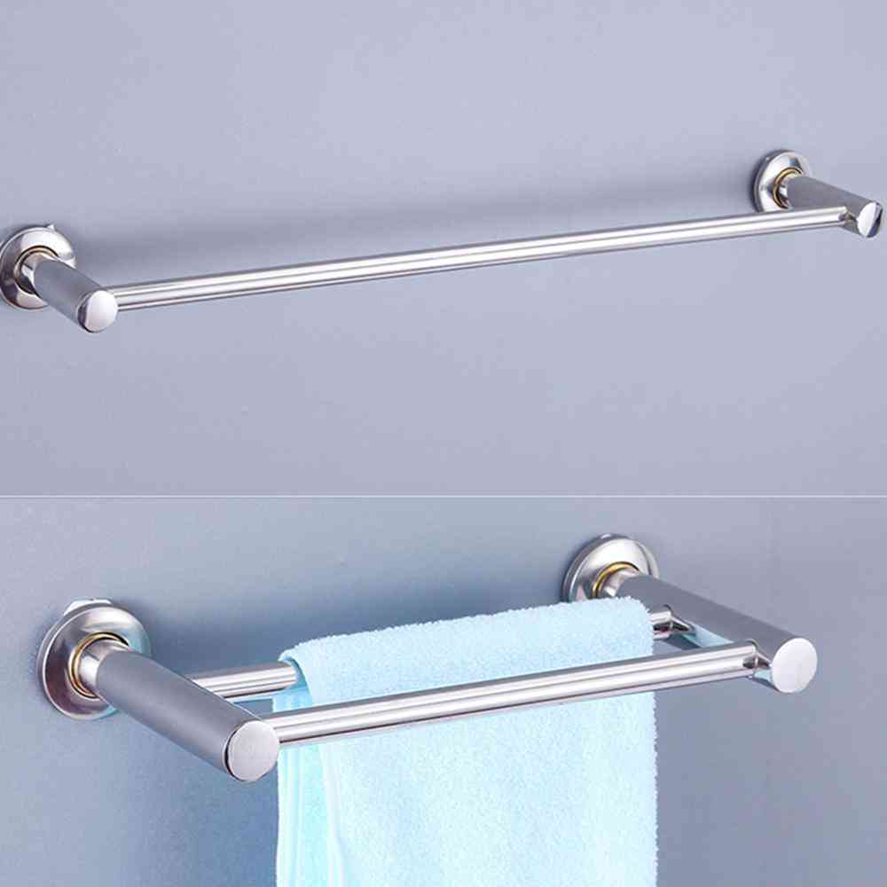 Long Stainless Steel Single/double Towel Hanging Rod