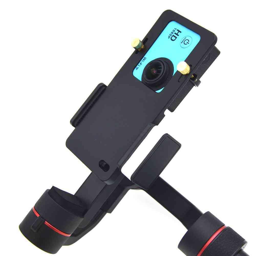 Universal Mount Plate Adapter - Handheld Gimbal Stabilizer For Gopro Hero