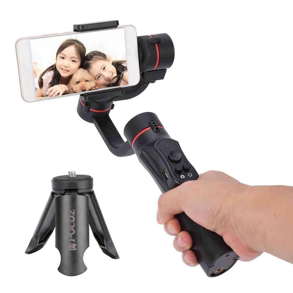 Gimbal Stabilizer Vlog Handheld Cellphone & Action Camera