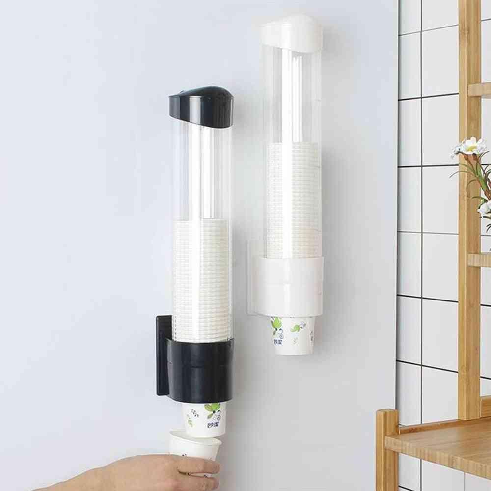 Paper/plastic Cup Dispenser,  Dustproof, Punching Free